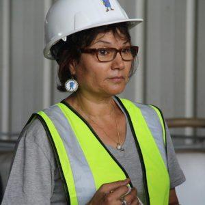 אורנה מנגולד, מנהלת מרכז המבקרים