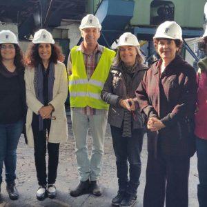 צוות מכון דווידסון לחינוך מדעי, רחובות במהלך ביקור במרכז המבקרים