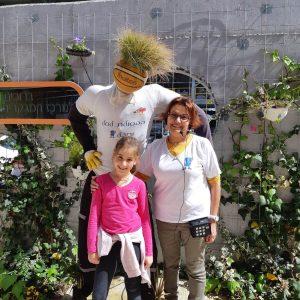 מועצה ירוקה בית ספר פינס גדרה בביקור במרכז המבקרים של שרותי אקולוגיה בקריית גת