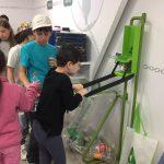 מועצה ירוקה בית ספר אור ממושב קדרון בביקור במרכז המבקרים שרותי אקולוגיה