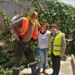 אורנה מנגולד עם דר לכימיה אזריה ריקלין משרד הבריאות ירושליים .