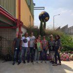 עובדי חברת פריגו במרכז המבקרים