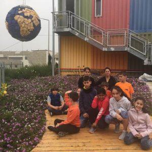 מועצה ירוקה חופית אשדוד במרכז מבקרים שרותי אקולוגיה